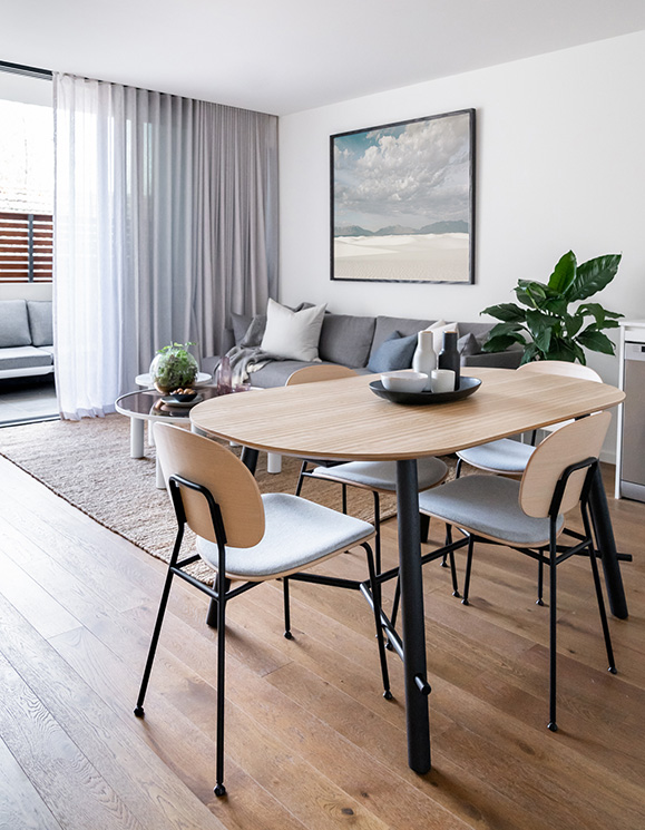 Hunting For George <br>Apartment Makeover